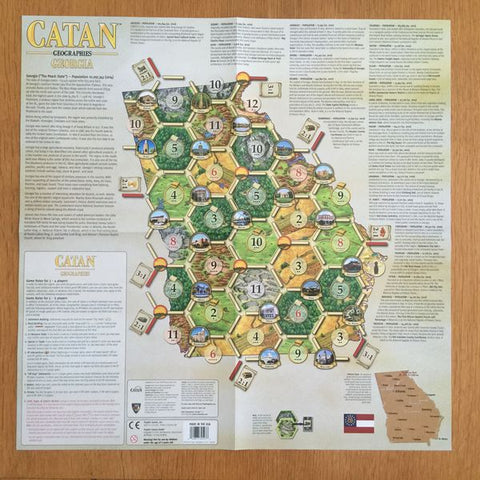 Catan Geographies: Georgia - Leisure Games