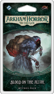 Arkham Horror the Card Game: Blood on the Altar Mythos Pack - Leisure Games