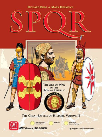 SPQR Deluxe: Great Battles of History Volume II (reprint)