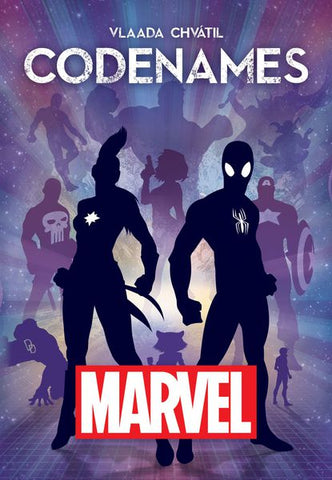 Codenames Marvel - Leisure Games