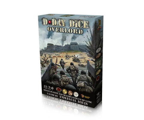 D-Day Dice 2nd Edition: Overlord Expansion (expected in stock on 26th January)