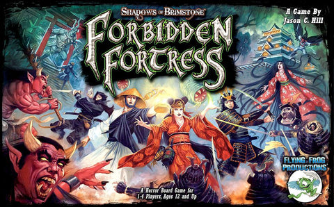 Shadows of Brimstone: Forbidden Fortress - Core Set