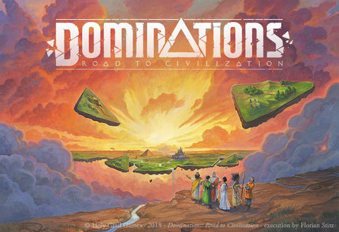 Dominations: Road to Civilization (expected in stock on 17th February)