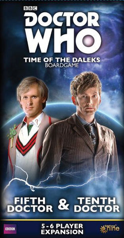Doctor Who Time of the Daleks: Fifth Doctor and Tenth Doctor Expansion