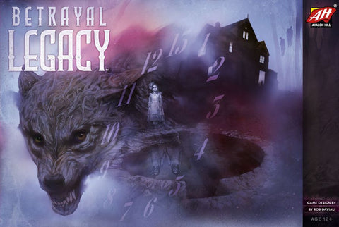 Betrayal Legacy - Reduced price*