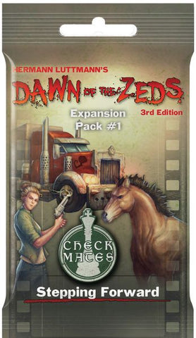 Dawn of the Zeds (3rd Edition) Expansion Pack 1: Stepping Forward