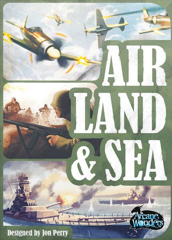 Air, Land & Sea: Revised Edition (expected in stock on 23rd February)