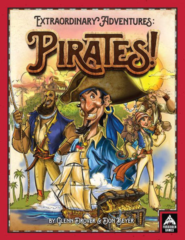 Extraordinary Adventures: Pirates (expected in stock on 27th May)