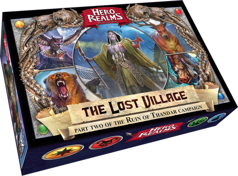 Hero Realms: The Lost Village Expansion - Part Two Of The Ruin of Thandar Campaign