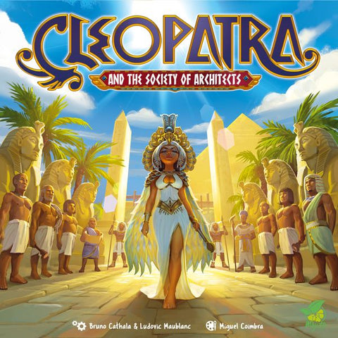 Cleopatra and the Society of Architects (expected in stock on 9th March)