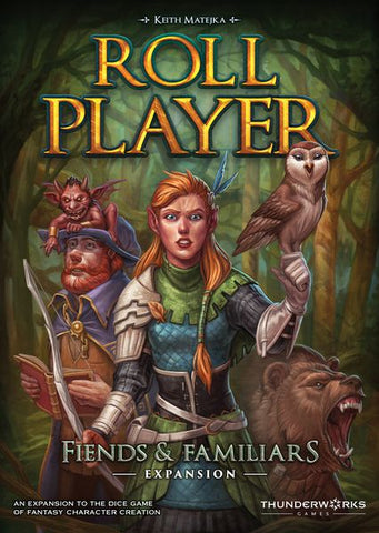 Roll Player: Fiends & Familiars (expected in stock on 4th August)