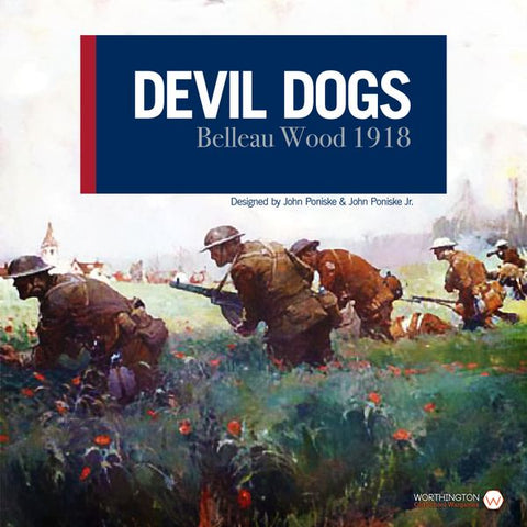 Devil Dogs Belleau Wood 1918