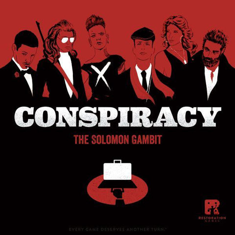 Conspiracy The Solomon Gambit (expected in stock on 17th September)