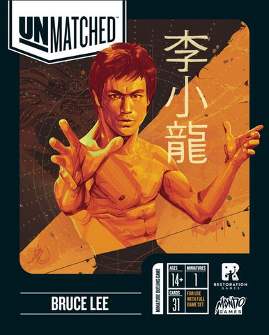 Unmatched: Bruce Lee Hero Pack (expected in stock on 10th February)