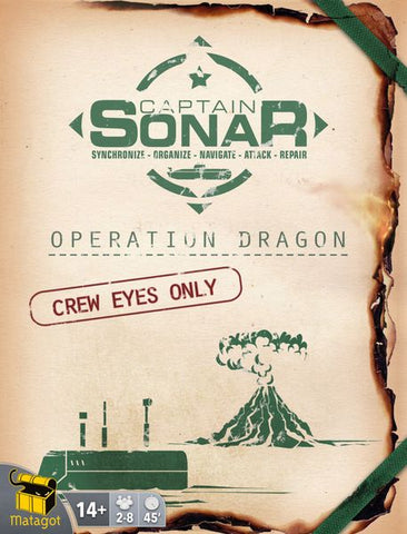 Captain Sonar: Upgrade 2 Operation Dragon
