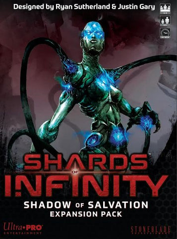 Shards of Infinity: Shadow of Salvation (expected in stock on 27th May)