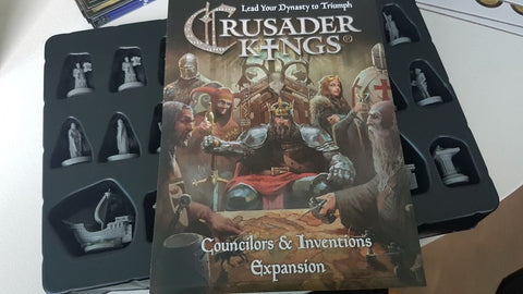 Crusader Kings: Councilors & Inventions Miniatures