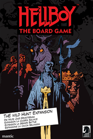 Hellboy: The Board Game – The Wild Hunt (expected in stock on 22nd October)