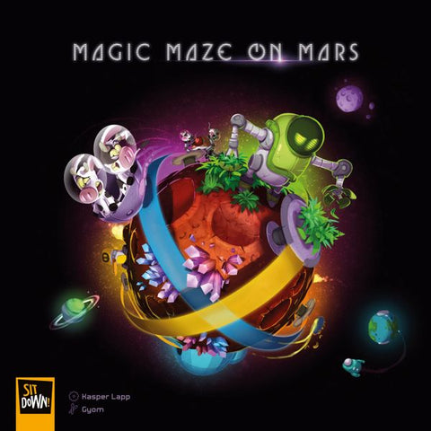 Magic Maze on Mars (expected in stock on 22nd September)