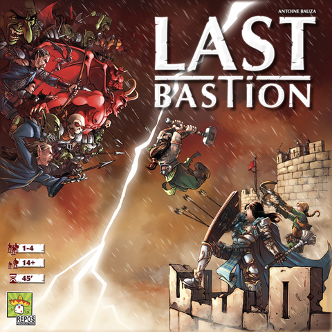 Last Bastion (expected in stock on 5th November)