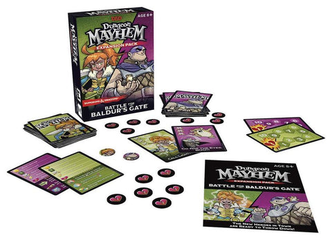 Dungeon Mayhem: Battle for Baldur's Gate Expansion (DDN) (expected in stock on 17th September)