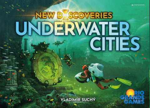 Underwater Cities: New Discoveries Expansion (expected in stock on 6th May)