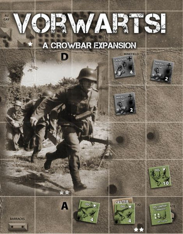 Crowbar!: The Rangers at Pointe Du Hoc – Vorwarts! Expansion