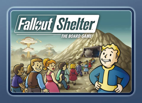Fallout Shelter: The Board Game (expected in stock on 27th May)