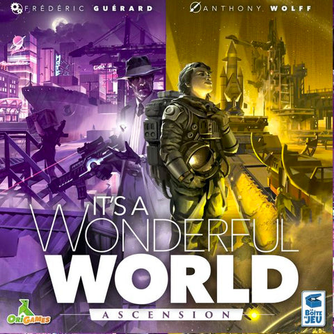 It's a Wonderful World: Ascension Expansion - pre-order (expected Q4 2020)