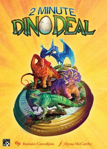 2 Minute Dino Deal Card Game