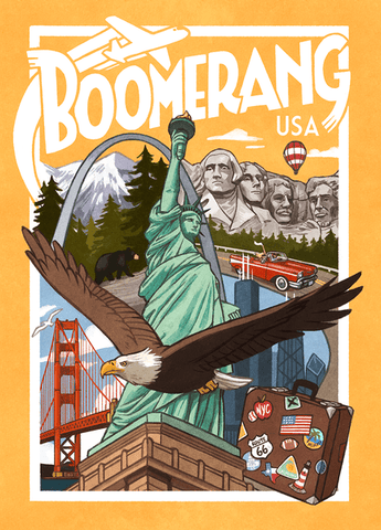 Boomerang: USA (expected in stock on 2nd March)