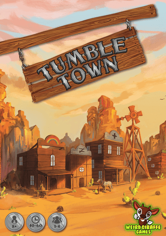 Tumble Town (expected in stock on 2nd March)