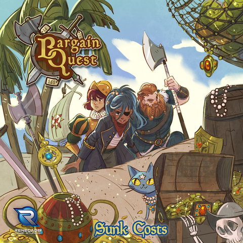 Bargain Quest: Sunk Cost Expansion (with Secret Cave promo) (release date 26th September)