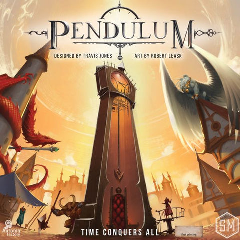 Pendulum (expected in stock on 29th September)