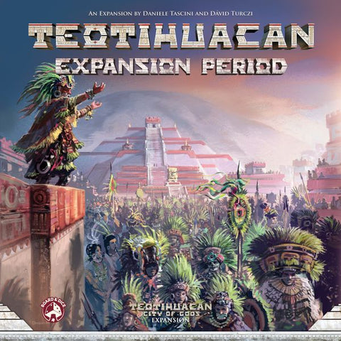 Teotihuacan: Expansion Period (expected in stock on 11th May)