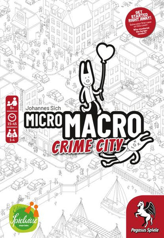 MicroMacro: Crime City (expected in stock on 1st December)