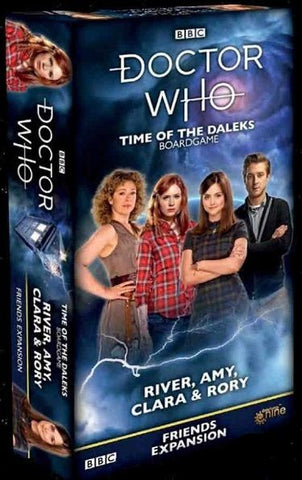 Doctor Who: Time Of The Daleks Board Game: River, Amy, Clara and Rory Friends Expansion