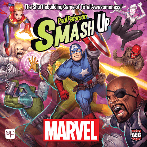 Smash Up: Marvel - reduced