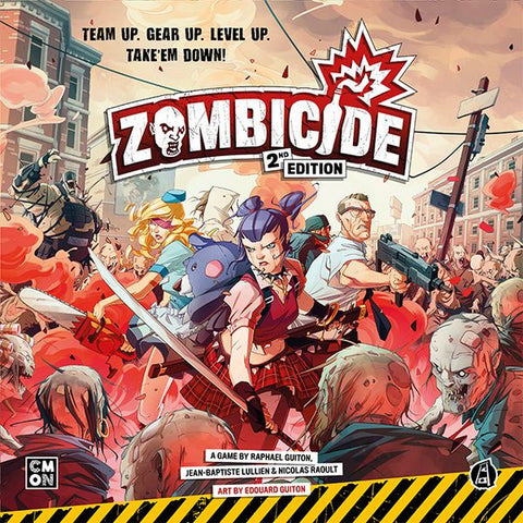 Zombicide 2nd Edition (expected in stock on 13th April)