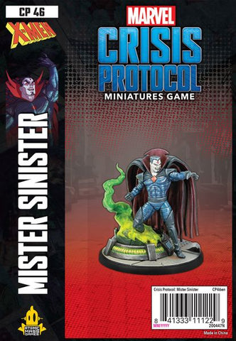 Marvel Crisis Protocol: Mr Sinister (release date 14th May)