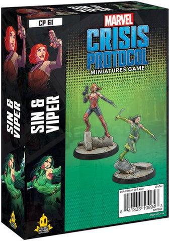 Marvel Crisis Protocol: Sin and Viper Character Pack (release date 14th May)