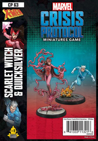 Marvel Crisis Protocol: Scarlet Witch and Quicksilver (release date 14th May)