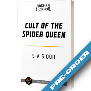 Arkham Horror Novel: Cult of the Spider Queen - pre-order (expected January 2022)