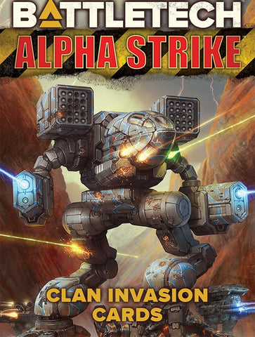 BattleTech Alpha Strike: Clan Invasion Cards