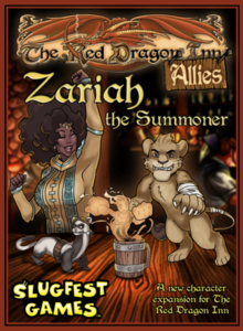 The Red Dragon Inn Allies: Zariah the Summoner