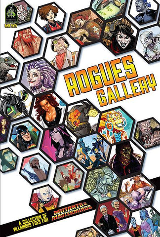 Mutants and Masterminds: Rogues Gallery (expected in stock on 24th July)