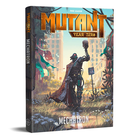 Mutant Year Zero: Mechatron + complimentary PDF