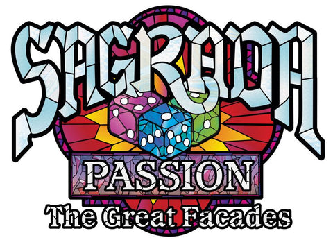 Sagrada: The Great Facades - Passion (expected in stock on 20th August)