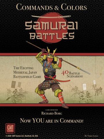 Commands & Colors: Samurai Battles (in stock now)
