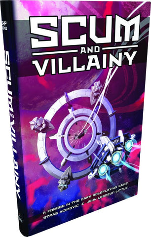 Scum and Villainy + complimentary PDF (back order only)